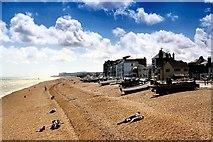 TR3752 : Deal Beach (south) by David Dixon
