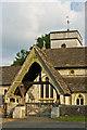 TQ2149 : Lychgate to St Michael's Church by Ian Capper