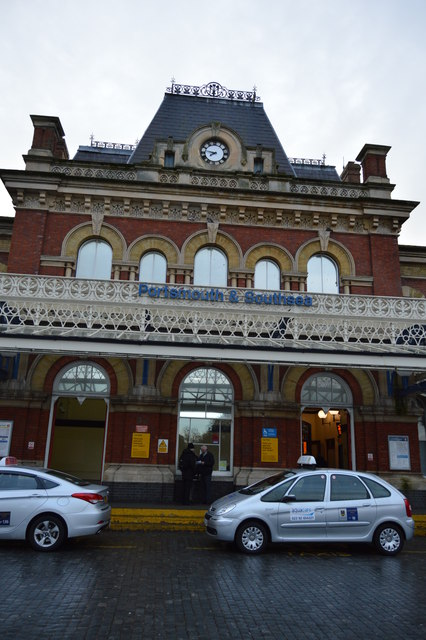 Portsmouth & Southsea Station front entrance