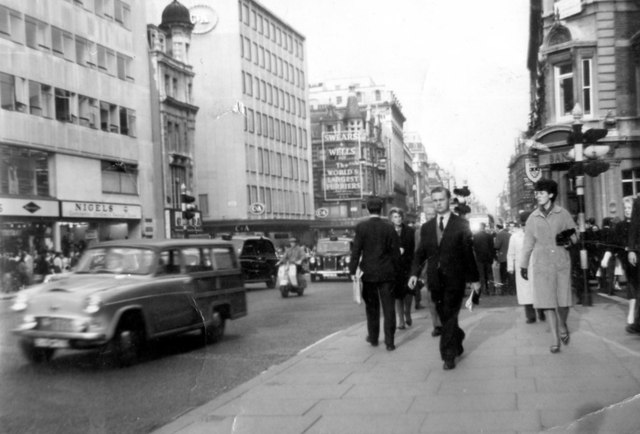 Oxford Street in the 1960s