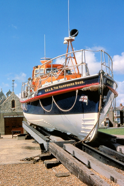 RNLB The Hampshire Rose and Walmer Lifeboat Station
