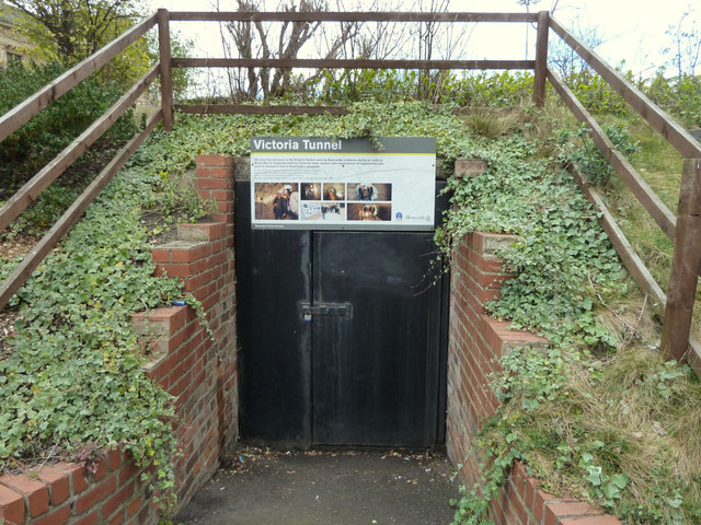 Entrance to Victoria Tunnel