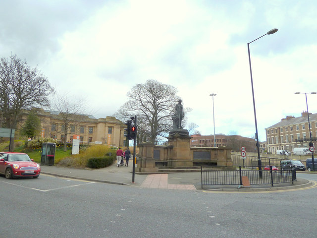 Junction of Claremont Road and Barras Bridge, Newcastle