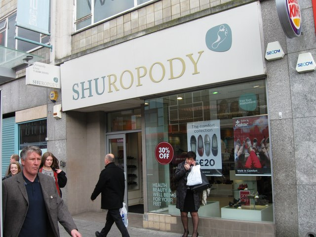 Shuropody, Above Bar Street