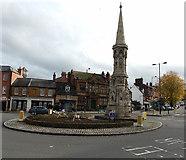 SP4540 : Banbury Cross, Banbury by Jaggery
