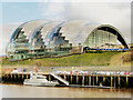 NZ2563 : The Sage, across the Tyne in Gateshead by Gary Rogers
