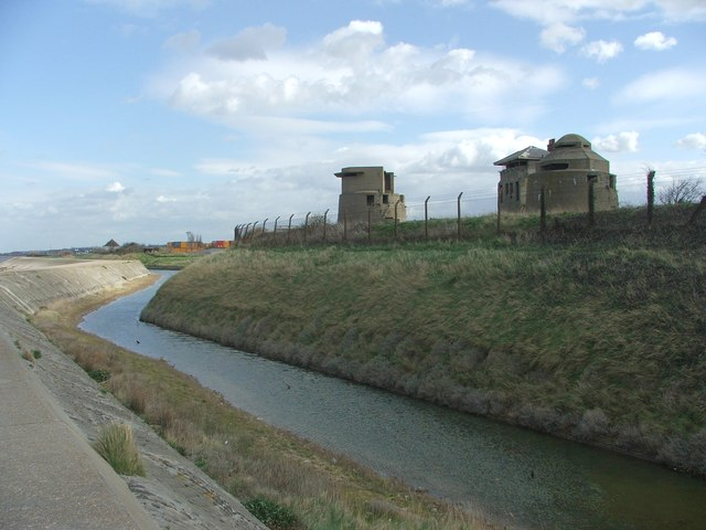 The Moat and Centre Bastion, Sheerness Dockyard