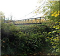 ST6071 : Side view of a suspension river footbridge, Bristol by Jaggery