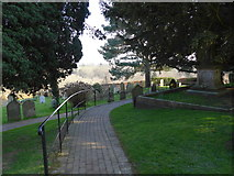 TQ3632 : St Margaret, West Hoathly: churchyard (VIII) by Basher Eyre
