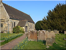 TQ3632 : St Margaret, West Hoathly: churchyard (XIII) by Basher Eyre