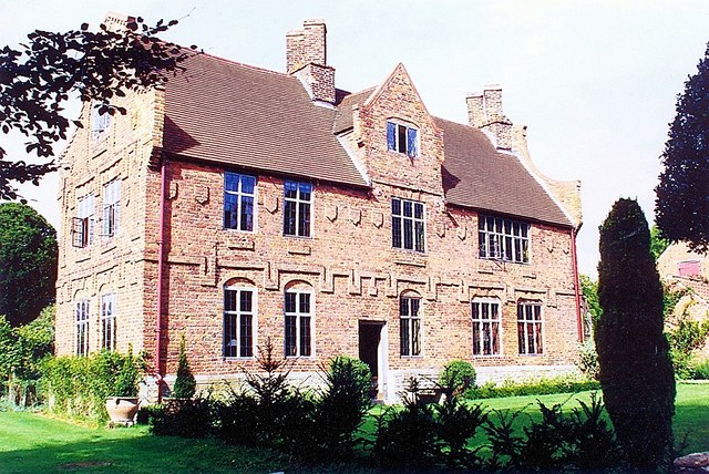 The manor house at Aslackby, near Bourne, Lincolnshire