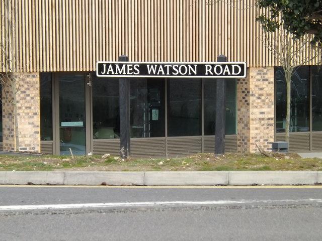 James Watson Road sign