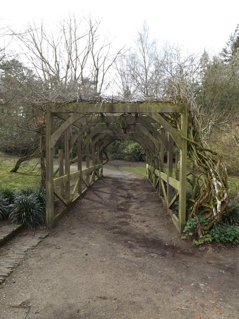 Pergola at Earlham Hall