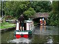 SJ9003 : Approaching Marsh Lane Narrows at Fordhouses, Wolverhampton by Roger  Kidd