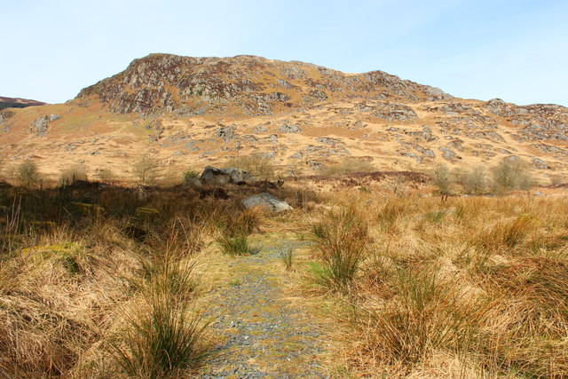 Path from Dunkitterick Cottage