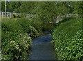 SO8278 : Footbridge across the River Stour by Mat Fascione