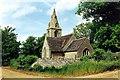 TF0119 : The parish church at Creeton, near Bourne, Lincolnshire by Rex Needle