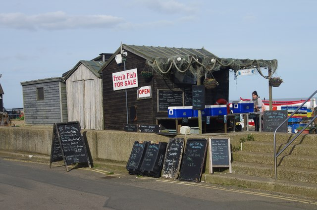 Fishing hut, Aldeburgh beach