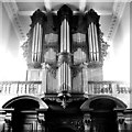 TL4458 : Organ in St Catharine's College Chapel by Tiger