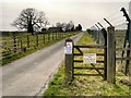 SJ9082 : Bridleway towards Shirdfold farm by David Dixon