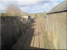 NY6565 : Newcastle to Carlisle Railway Line by Les Hull