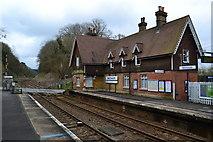 TQ2151 : Betchworth Station building by David Martin