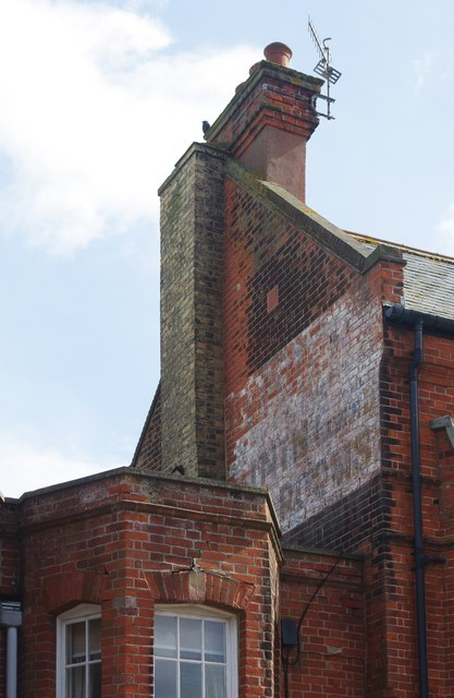 """Ghost sign"", High Street, Aldeburgh"