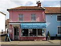 TM4656 : Tea room, High Street, Aldeburgh by Julian Osley