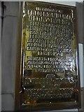NY2623 : Keswick St John: memorial (3) by Basher Eyre