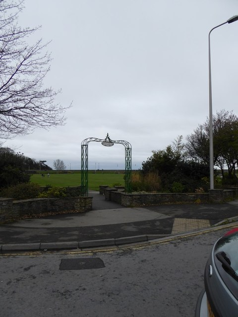 Entrance to Clevedon Salthouse Park