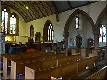 NY2623 : Inside Keswick St John (2) by Basher Eyre