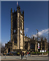 SJ8398 : Manchester Cathedral. by Peter McDermott