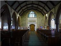 NY2623 : Inside Keswick St John (5) by Basher Eyre