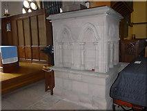 NY2623 : Keswick St John: pulpit by Basher Eyre