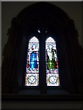 NY2623 : Keswick St John: stained glass window (1) by Basher Eyre