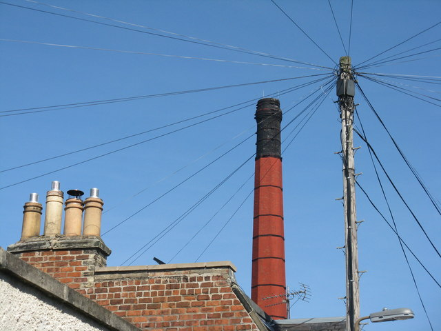 Chimneys, large and small