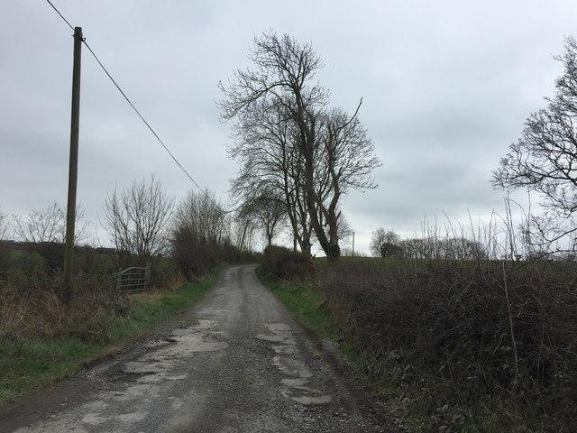 Road at Keenoge