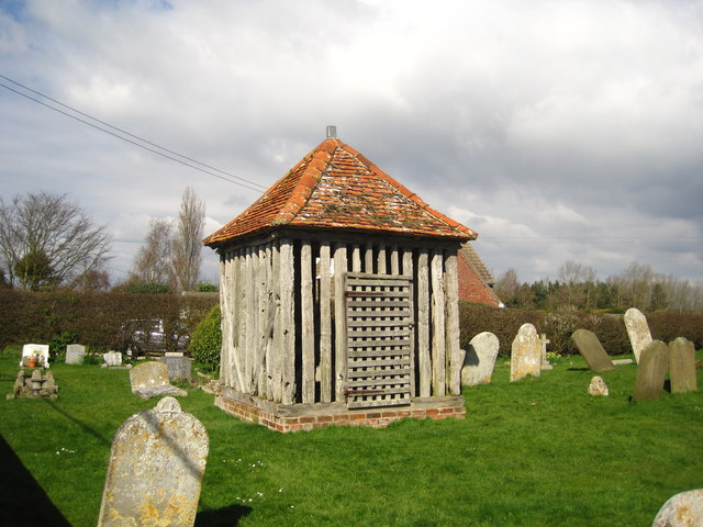 Churchyard and Bell Cage, All Saints Wrabness