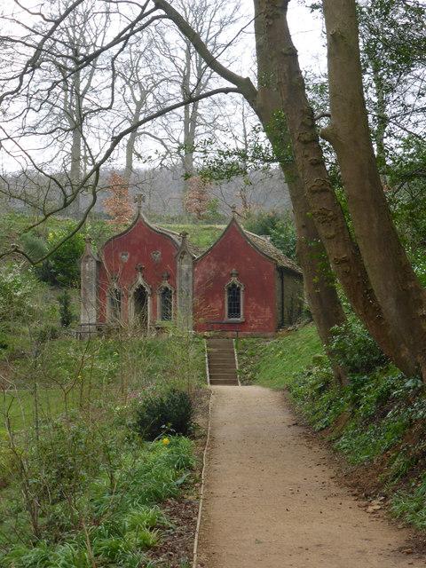 Painswick Rococo Garden - Red House