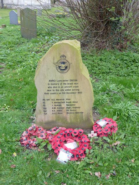 Lancaster crew memorial