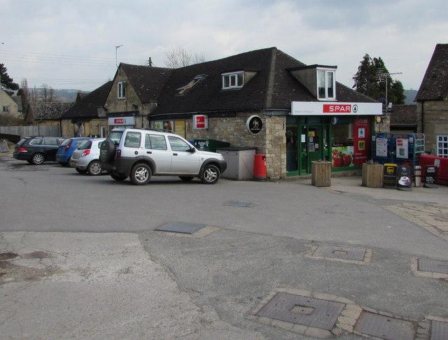 Spar store, New Town, Toddington