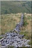 SD9170 : Ruined Dry Stone Wall by Mick Garratt