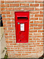 TG2002 : Swardeston Post Office George VI Postbox by Adrian Cable