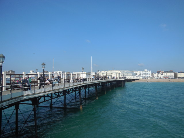 East side of Worthing Pier