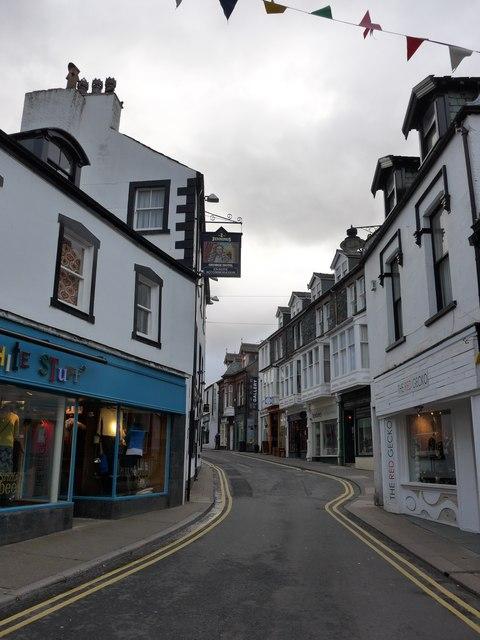 Looking south-east in St John's Street