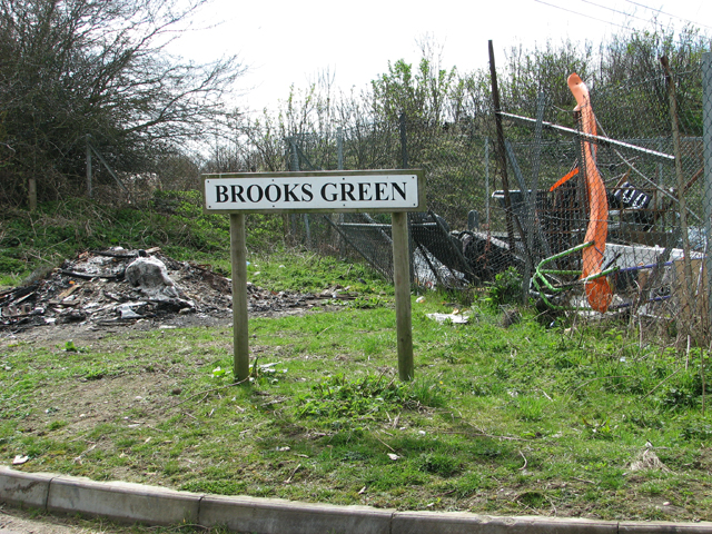 Brooks Green sign