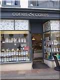 NY2623 : Cones & Cakes, Lake Road by Basher Eyre