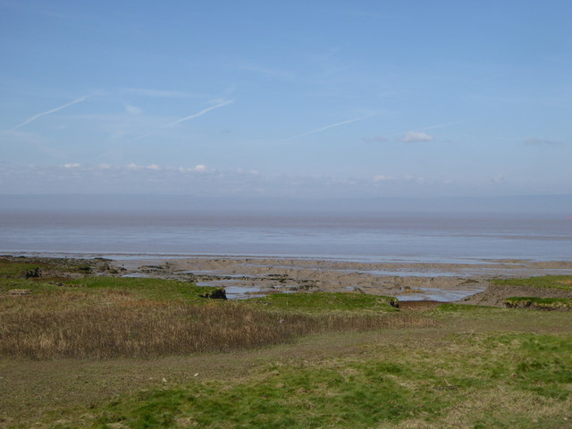 Mudflats in the Severn Estuary