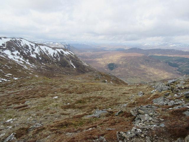 North-west ridge of Bac an Eich