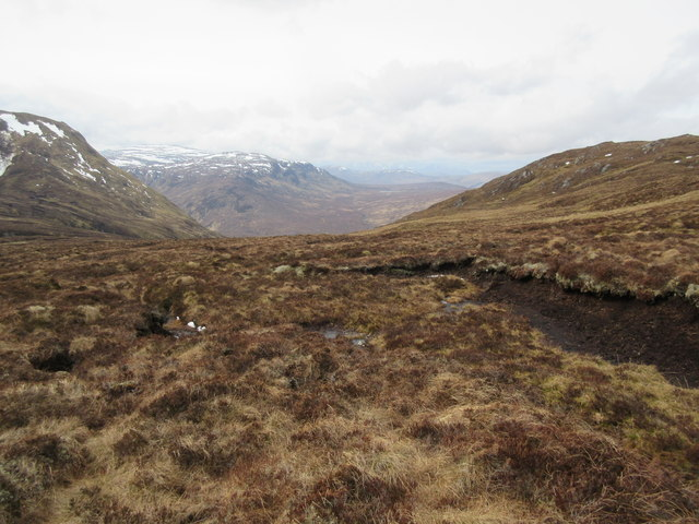 Moorland to the north of Bac an Eich